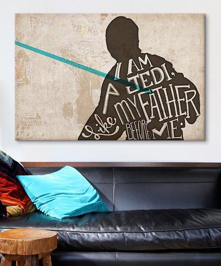 Luke Skywalker Gallery-Wrapped Canvas