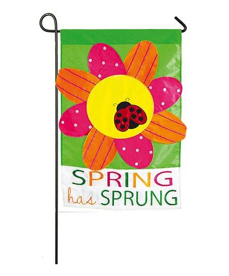 Spring has sprung flag zulily