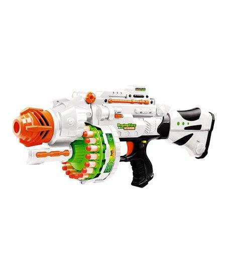 White Large Soft-Bullet Blaster Set
