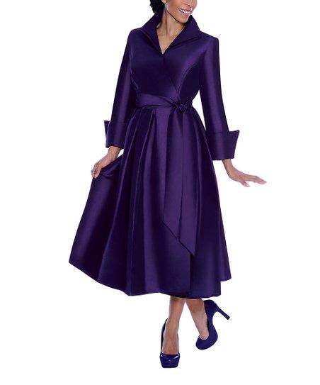Wonderful Violetta Black LaceSleeve Midi Dress  Women Amp Plus  Zulily