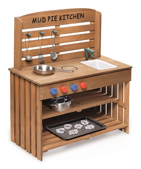outdoor mud pie kitchen play set zulily