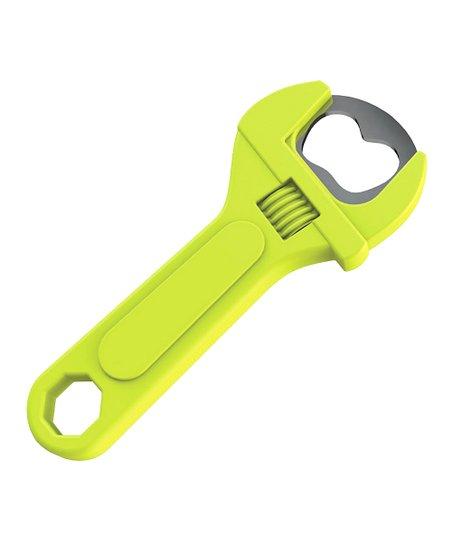 green magnetic wrench bottle opener. Black Bedroom Furniture Sets. Home Design Ideas