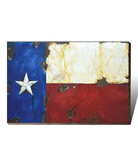 Montana West Metal 3 D Texas Flag Wall Art Zulily
