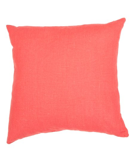 Pink Linen Throw Pillow : Jaipur Rugs Pink Linen Throw Pillow zulily