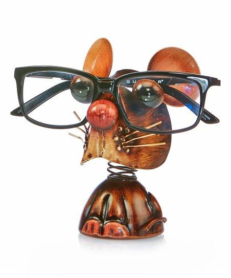 mouse reading glasses holder
