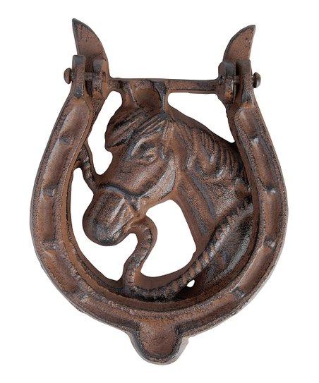 Horse door knocker zulily - Horse door knocker ...