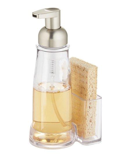 Clarity foaming soap pump caddy zulily - Soap pump caddy ...