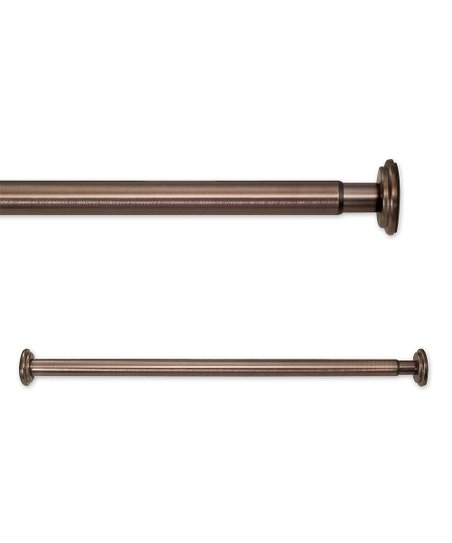 source global bronze tension curtain rod zulily