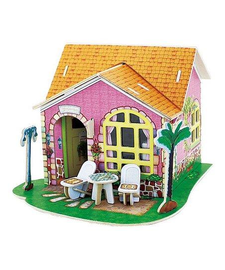 Living Room Dollhouse 3-D Puzzle