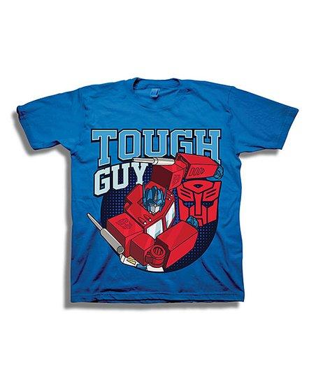 Royal Transformers 'Tough Guy' Tee - Toddler