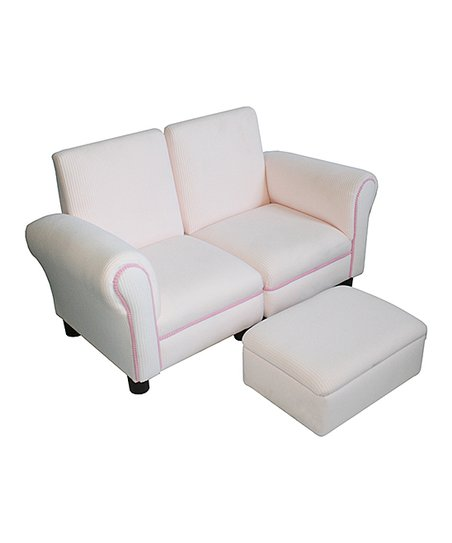 Komfy Kings Inc Three Piece Light Pink Chenille Hot Pink Sofa Set Zulily