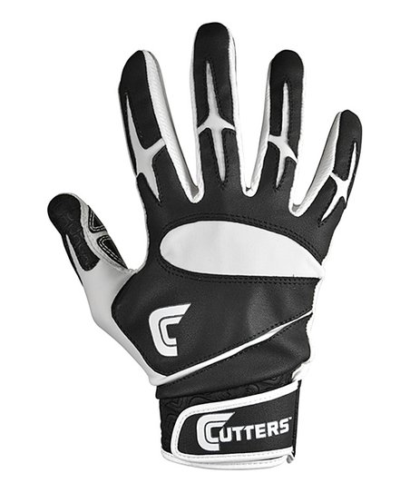 Black & White Cutters Pro Batting Glove