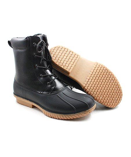 skadoo black duck boot zulily
