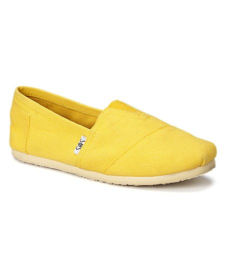 shoes of soul bright yellow slip on shoe zulily