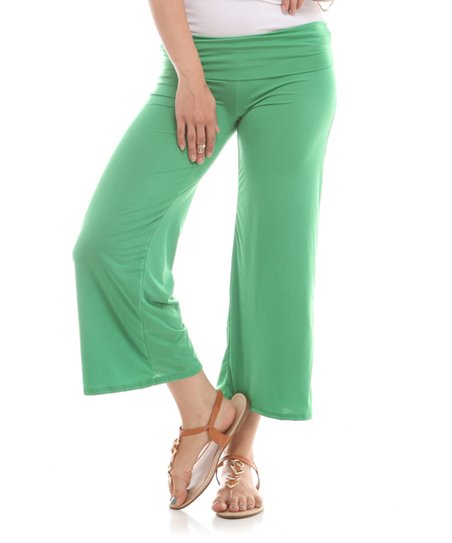 New Womens Womens Palazzo Wide Leg Rayon Gaucho Capri Pants 95% Rayon Viscose,5% Spandex Waist, Hips, Inseam Custom Made, If You Want To Use Your Own Measurements, Please Contact Us If Not, We Will Use Standard