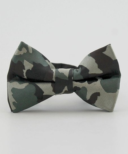 littlest prince couture camo bow tie zulily