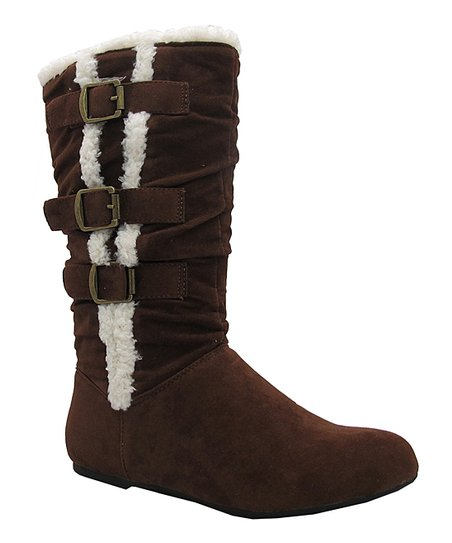brown boot zulily