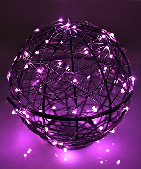 Light Purple String Lights : River of Goods Purple Micro LED String Light - Set of Two zulily