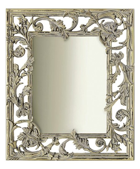 Baroque leaf wall mirror for Plastic baroque mirror