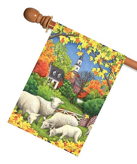 Toland Home Garden Autumn Sheep Flag Zulily