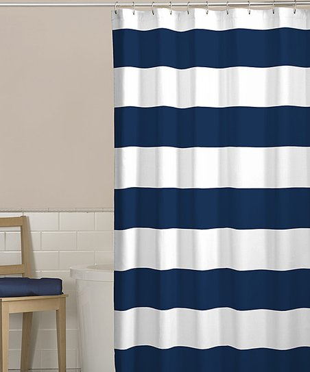 Curtains For Girl Bedroom Nautical Stripe Shower Curtain