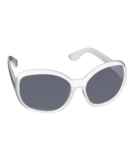 Glasses Frame Personality : My First Shades White Big Frame Personality Sunglasses ...