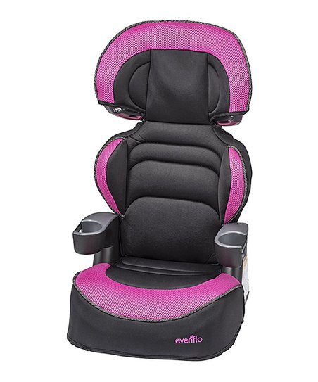 evenflo aella big kid advanced booster car seat zulily. Black Bedroom Furniture Sets. Home Design Ideas
