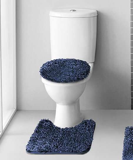 New Style It Bath Mat Rug Set Of 2 Royal Blue Small 16x23 19x29 100