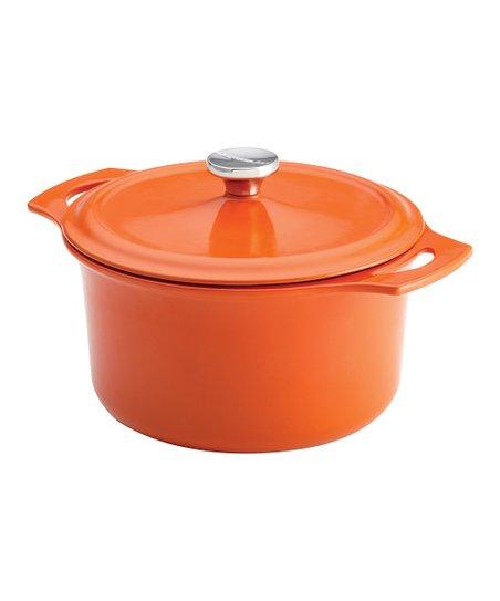 Orange 5-Qt. Round Dutch Oven