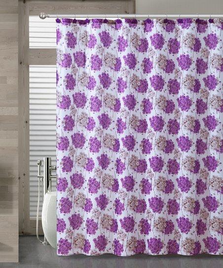 Victoria Classics Purple Carolina Shower Curtain Set Zulily