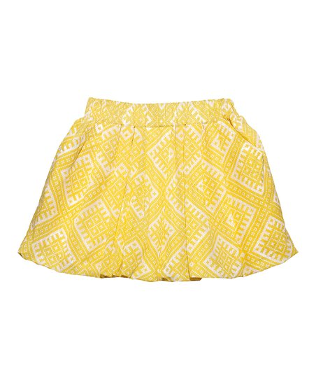 Yellow Bubble Skirt 120