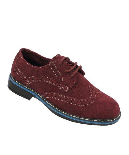 burgundy dress shoe zulily