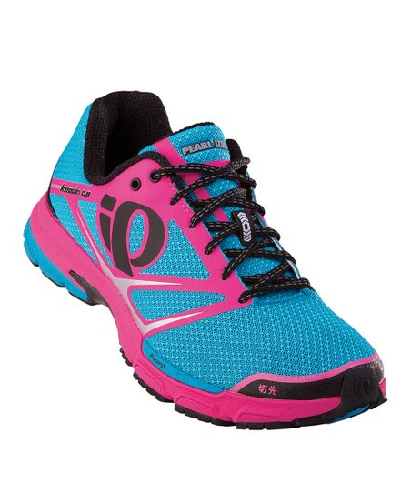 Shadow Gray & Electric Pink Kissaki 2.0 Running Shoe