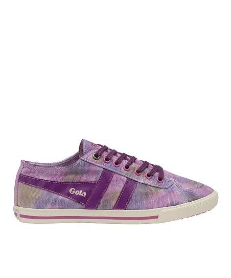 Plum & Pink Quota Dye Sneaker