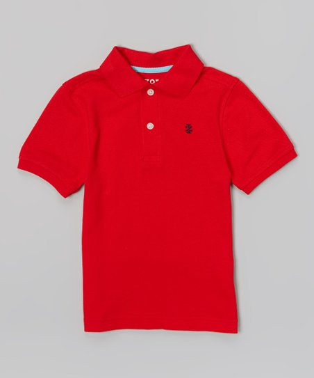 Red Polo - Boys
