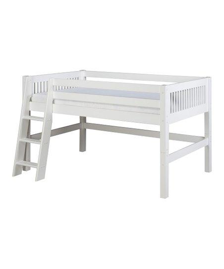White Mission Low Loft Bed 452 x 543