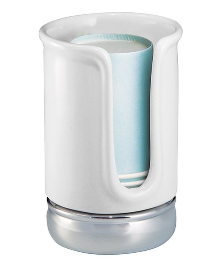 ceramic white york disposable cup dispenser zulily