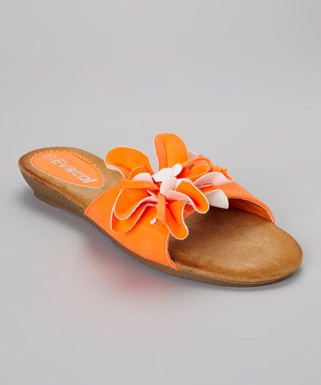 Orange Flower Slide