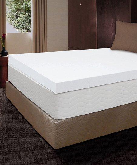 4 Body Therapy Memory Foam Mattress Topper