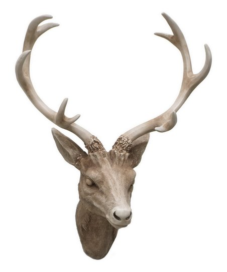 Plastic Deer Head Wall Decor : Resin deer head wall art zulily