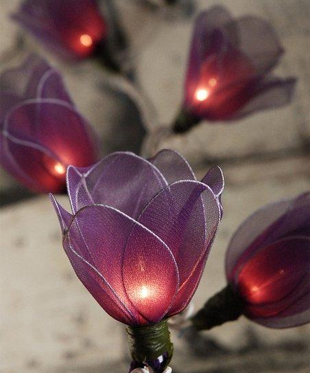 Purple Heart String Lights : Purple Tulip String Lights zulily