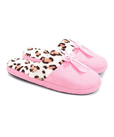 Pink Leopard Classic Slipper