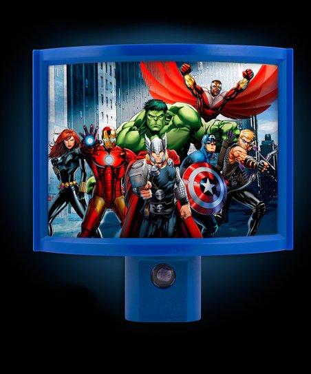 Marvel avengers wrap around led night light zulily - Avenger nightlights ...