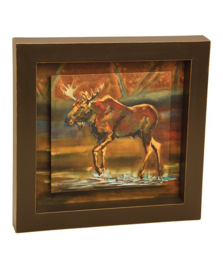 Wall Art Shadow Box : Demdaco moose shadow box wall art zulily