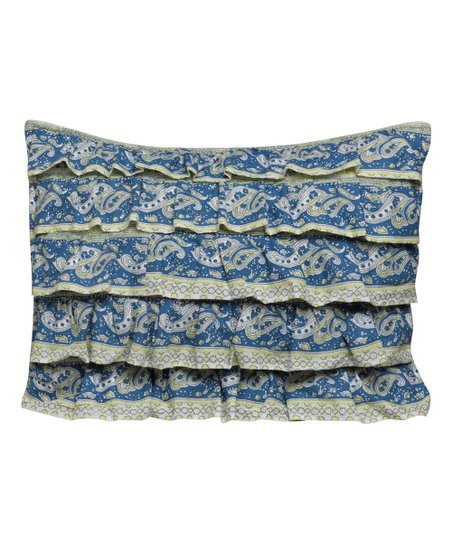 Throw Pillows Ruffle : Ivy Hill Home Sari Ruffle Throw Pillow zulily