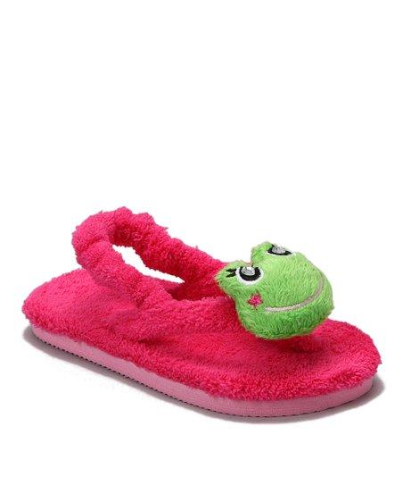 Pink Fancy Frog Sandal