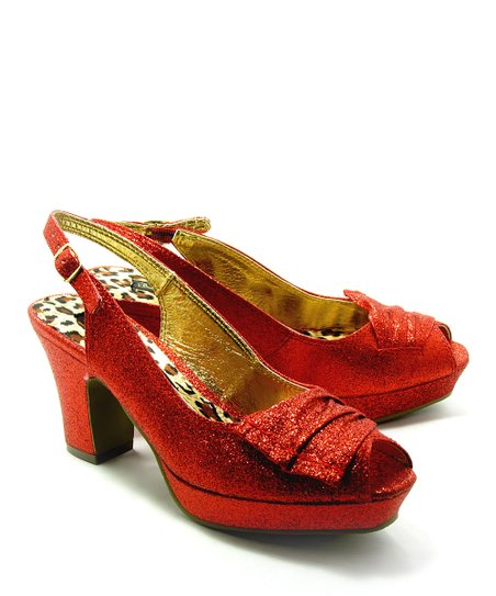 Red Brook Peep-Toe Sandal