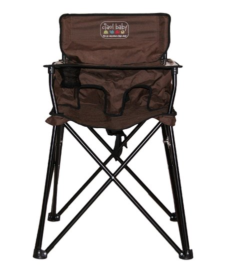 ciao baby chocolate travel high chair zulily