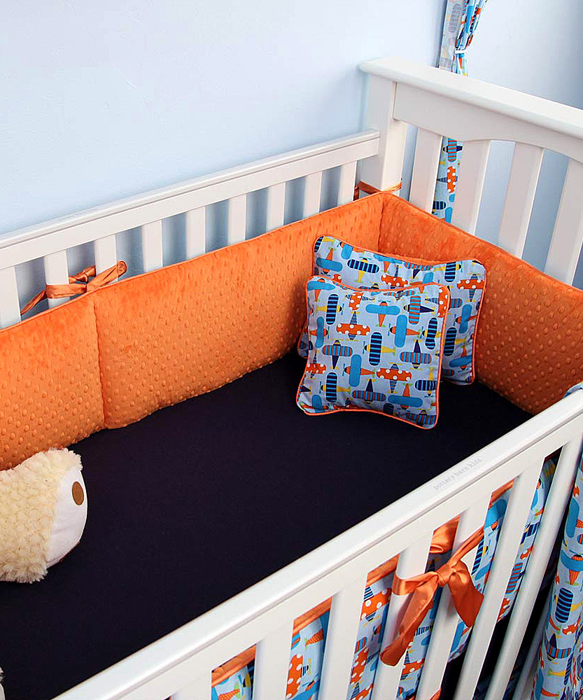 My blankee blue airplane crib bedding set zulily - Airplane baby bedding sets ...