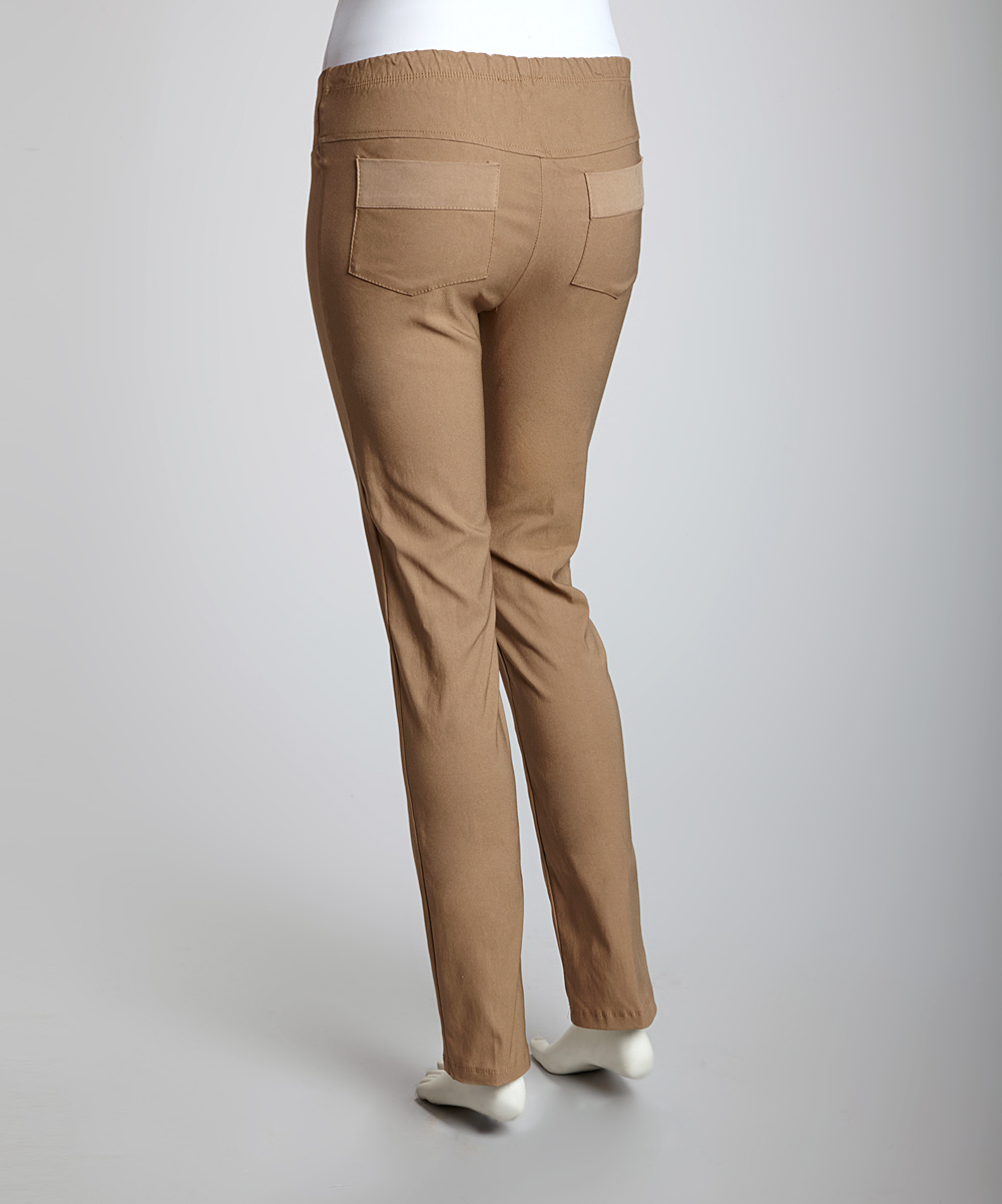 Original Dark Khaki Pants For Women Woolrich Milestone Pants